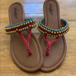 Lucky Brand Beaded Sandals